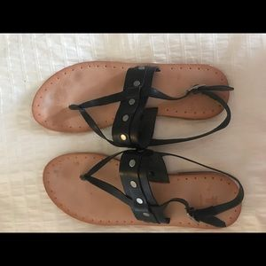Frye Studded Avery Thong Sandals